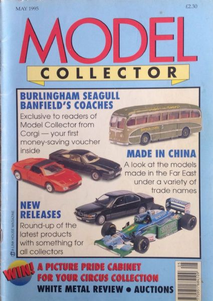 ORIGINAL MODEL COLLECTOR MAGAZINE May 1995